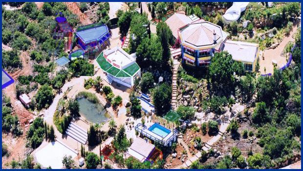 Casa das Rochas at Quinta da Arte overview