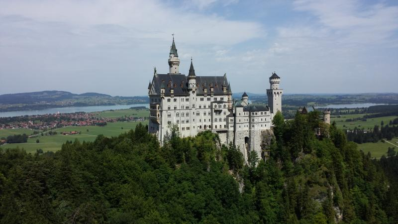 Location close to Neuschwanstein Castle