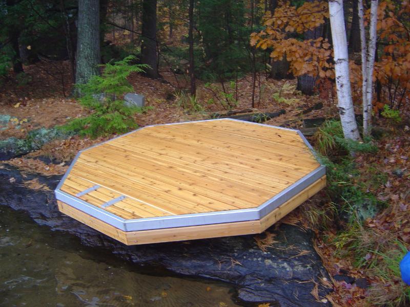 Flotante nadar balsa / Deck