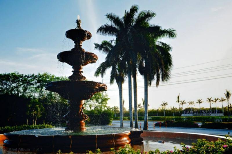 Resort entrance