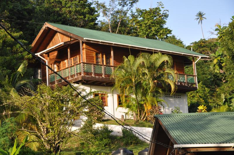 Toad Heights, Castara, Tobago., Ferienwohnung in Castara