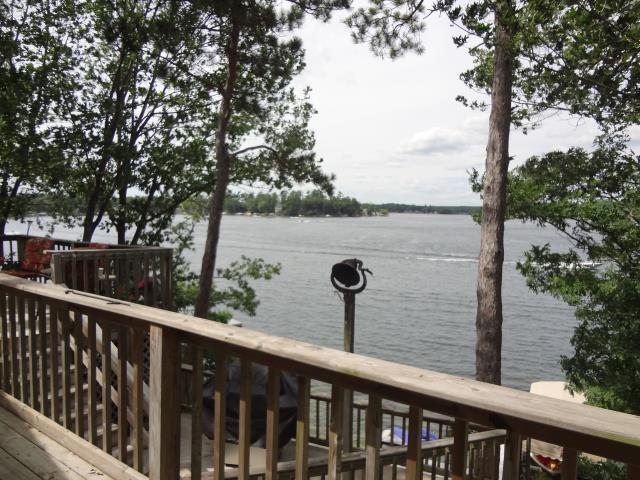 Deck & Lake views