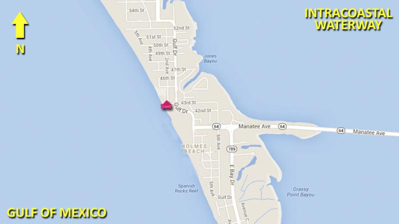 Located Between the Gulf and ICW