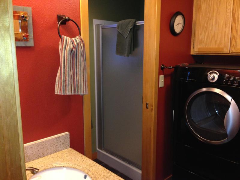 Lavanderia/bagno anteriore