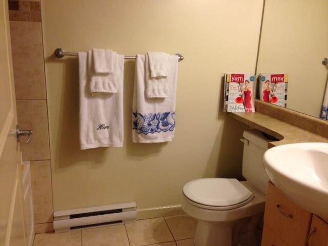 bagno recentemente rinnovato