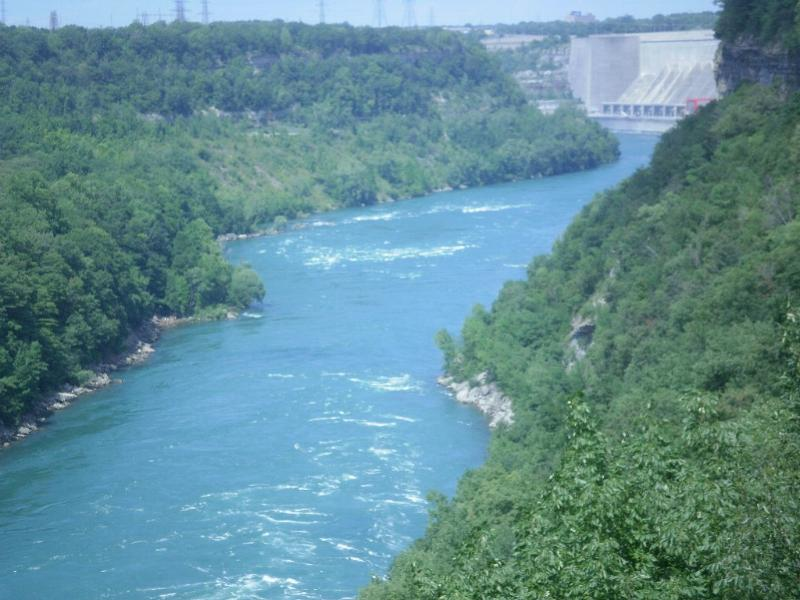 Niagara  Gorge,view  from Devils Hole Park