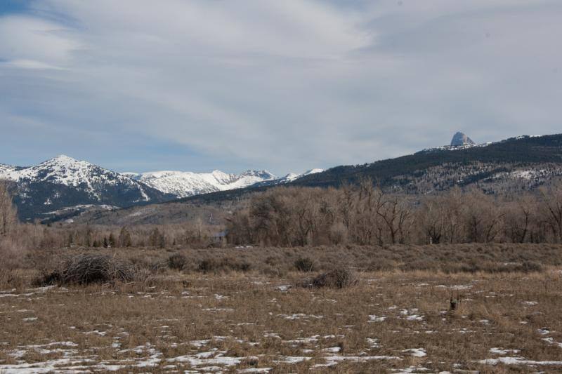 Looking towards Grand Targhee Ski Resort and the Grand Teton. Targhee is just a quick 30 min drive.