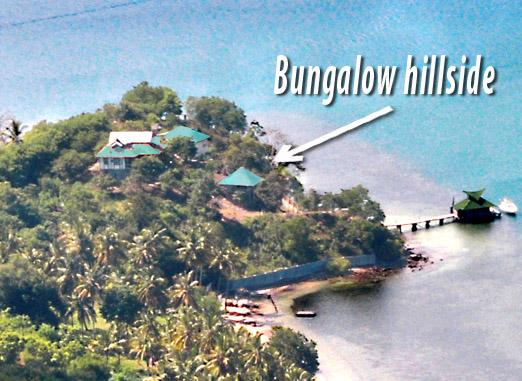 Bungalow On Hill Side - solar hot water, holiday rental in Gili Gede
