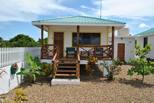 Yellow Tale Snapper Cabana At Latitude Adjustment in Hopkins Belize