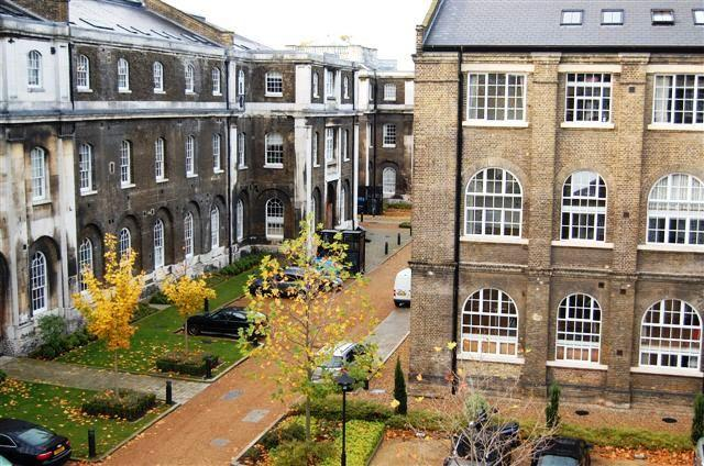The Royal Arsenal 'Grand Store' Listed Georgian-Victorian Buildings - Flat View from Kitchen/Dining