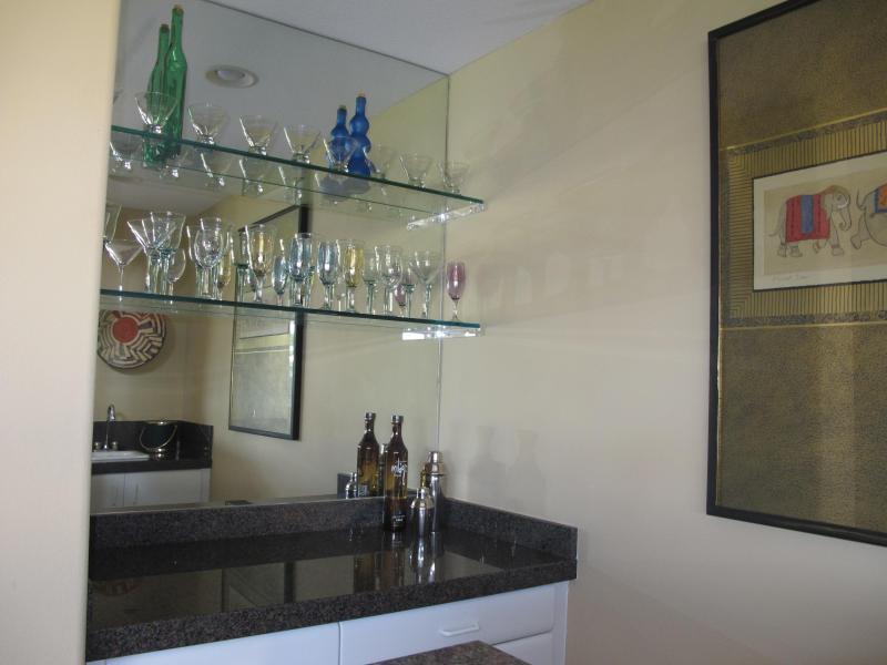 Bar met wijn koelkast
