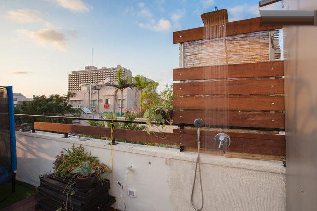 Rooftop Rain Shower (Hot Water)
