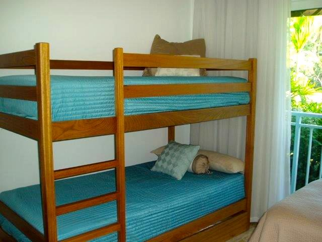 Shell; twin bunk beds