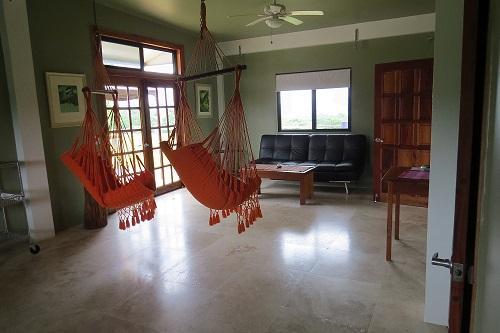 Penthouse sitting area