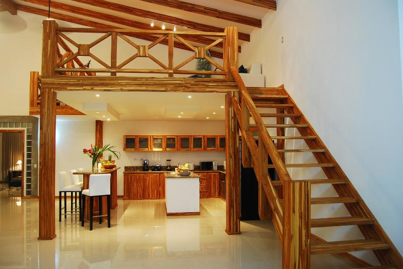 Mezzanine above the full Kitchen