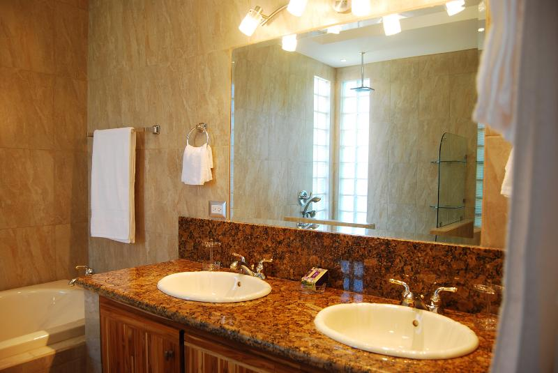 Master Bathroom: Separate Shower & Bath Tub. His & Her Sinks