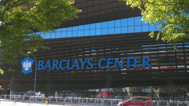 BARCLAYS CENTER - HOME OF THE BROOKLYN NETS