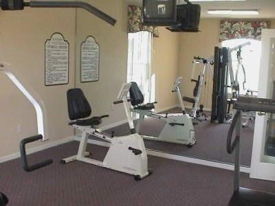 Guest Clubhouse Gym Area