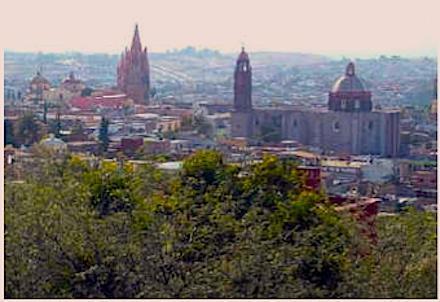 Vue sur San Miguel de la terrasse du dernier étage
