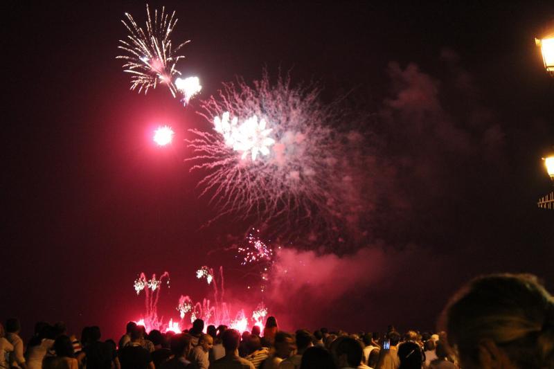 15th August Alghero Fireworks