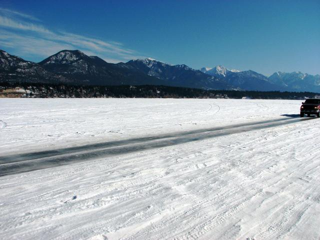 Try the Ice Highway, at your own risk of course