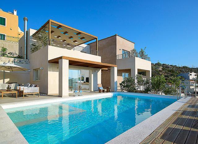Armi VIP Seaview Villa In Kokkino Chorio, Chania, casa vacanza a Drapanos