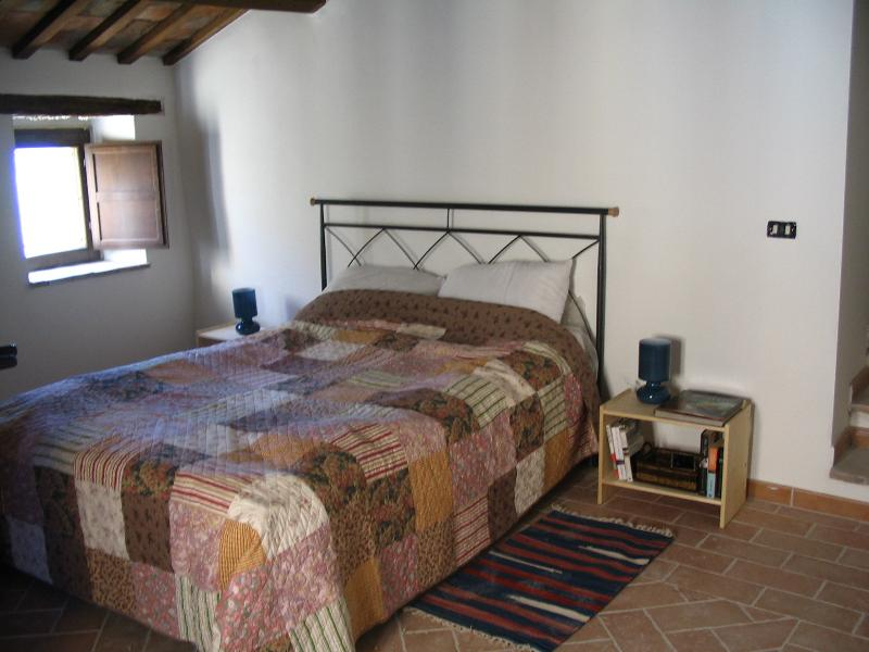 Bedroom over the pizza oven