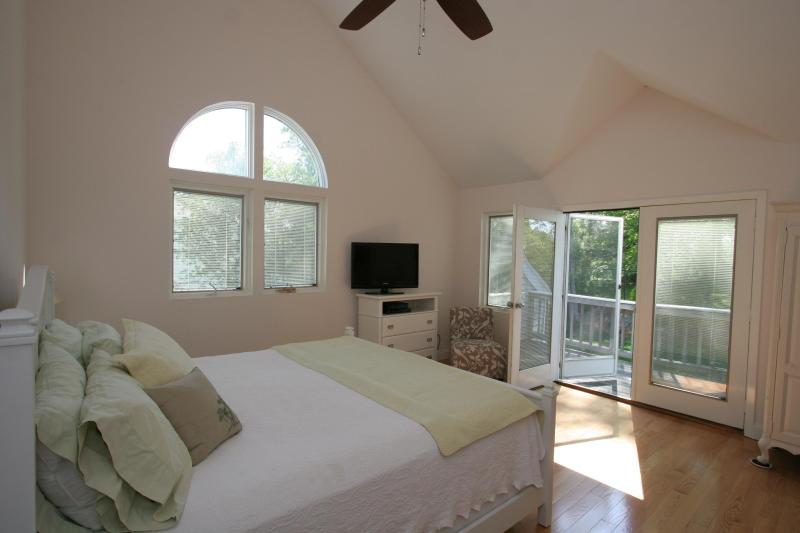 master Bedroom Suite with deck overlooking Golf Course