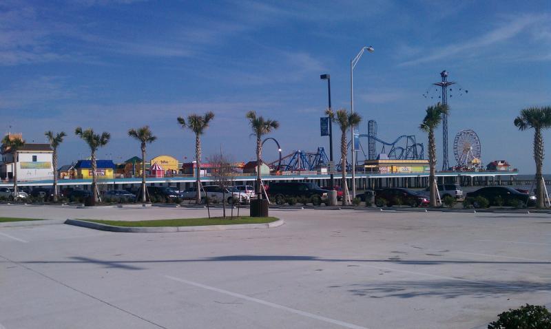 Pleasure Pier within walking distance