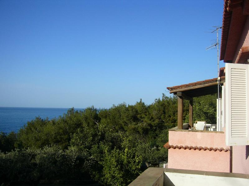View from one terrace to the other
