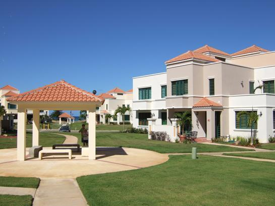 Our villa and gazebo