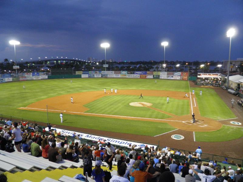 Jackie Robinson Stadium domicile des Cubs Daytona environ 2 milles de studio
