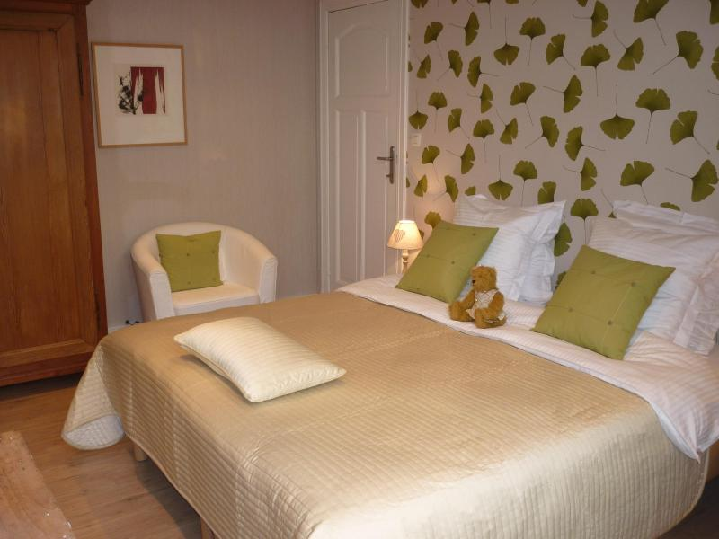 One of the guestrooms