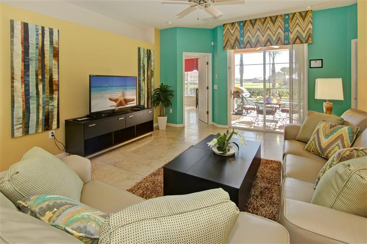 CLOSE TO DISNEY WORLD ORLANDO LUXURY 4BR/3BA  SOUTH FACING POOL/SPA, vacation rental in ChampionsGate