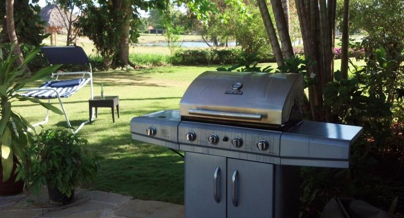 Gas Grill, Smoker and Hammock