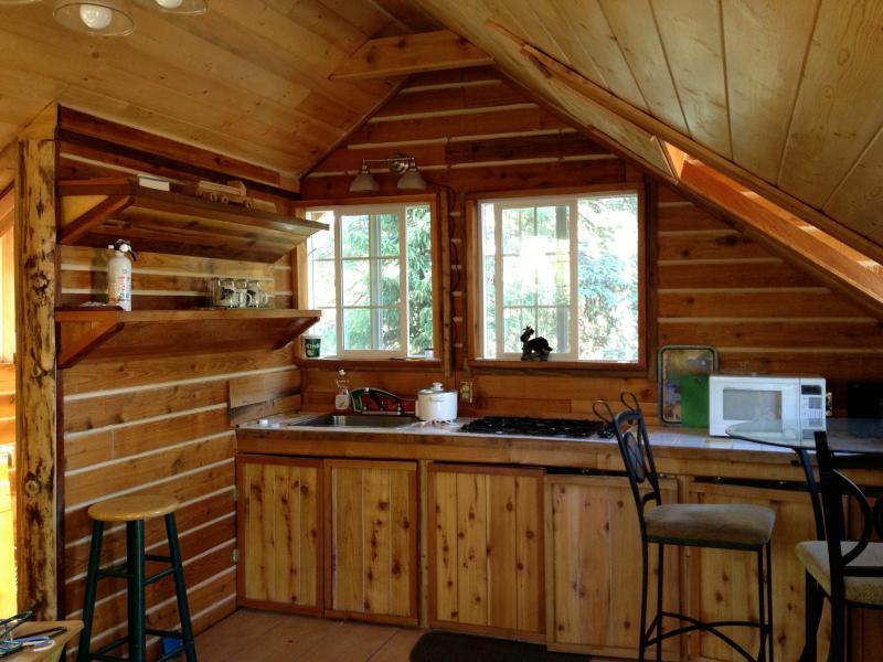 Studio on private lake Soldotna, Alaska, alquiler vacacional en Nikiski