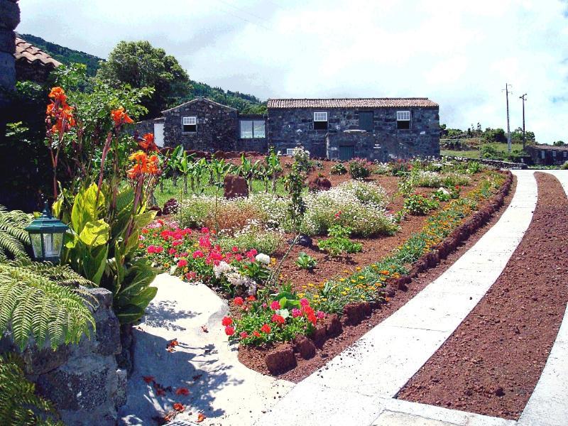 Casa do Alto do Ribeira garden