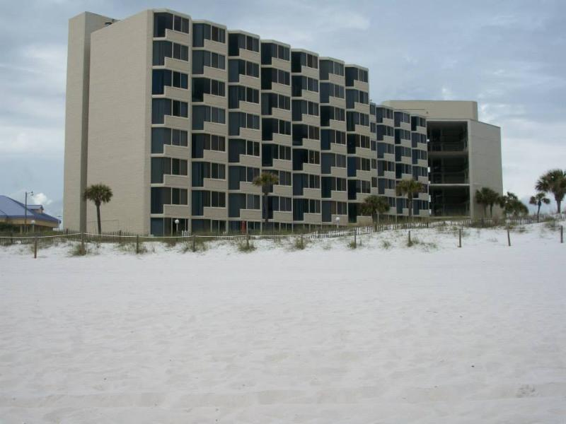 Exterior view from beach