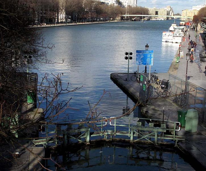 Bassin de la Villette, Canal