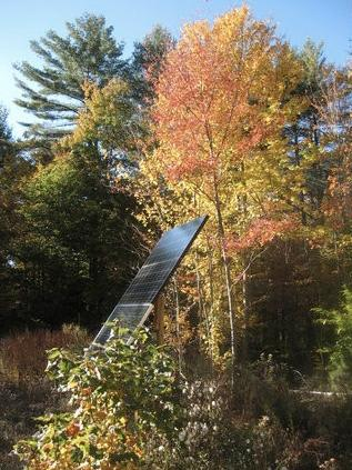 Nurture Through Nature is completely solar powered & off-the-grid!