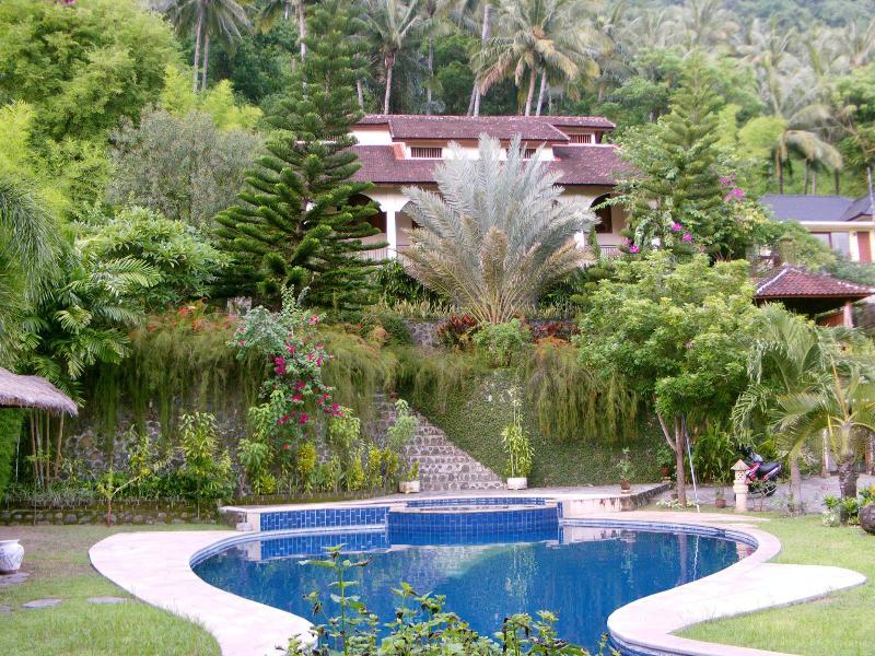 Beautiful view at the villa