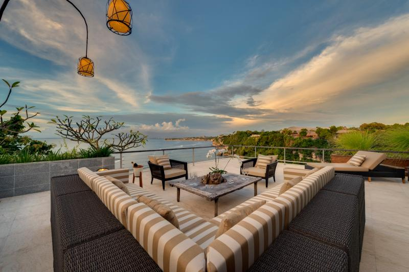 Roof Terrace at The Luxe Bali