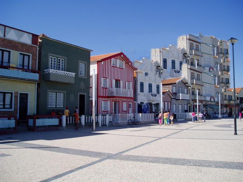 Stripy houses of the Costa Nova