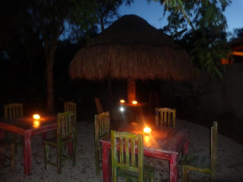 Casa Mango in the night...dinner under the stars