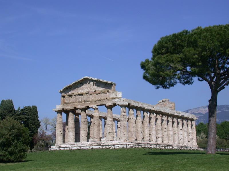 templo Paestum Athena