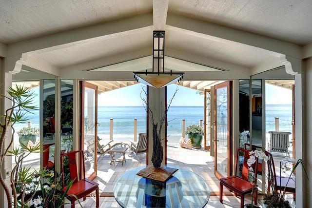 Ocean breezes waft through our beachfront villa, just 6 miles from Santa Monica