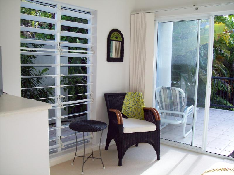 airy and light bedrooms with louvres for air flow