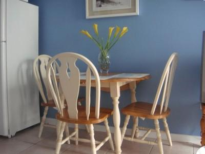 Dining Area - Table and 4 chairs