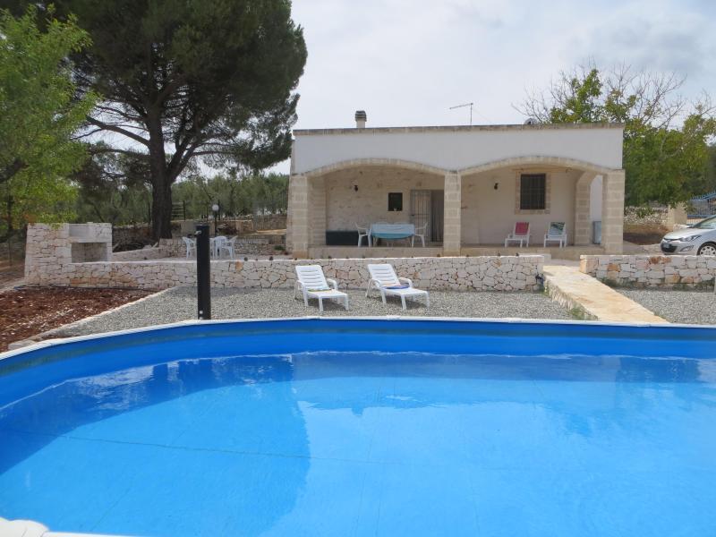 Casa Mandorlina Trullo in Puglia, alquiler de vacaciones en Certosa