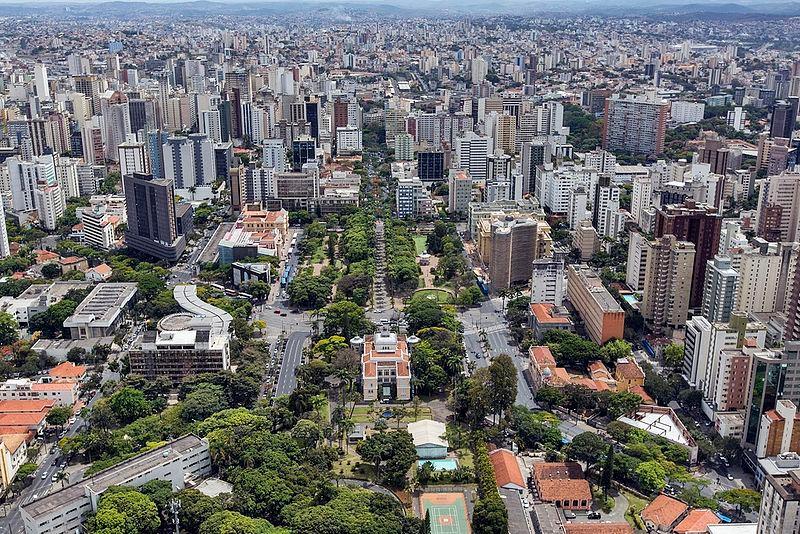 Du centre ville de Belo Horizonte